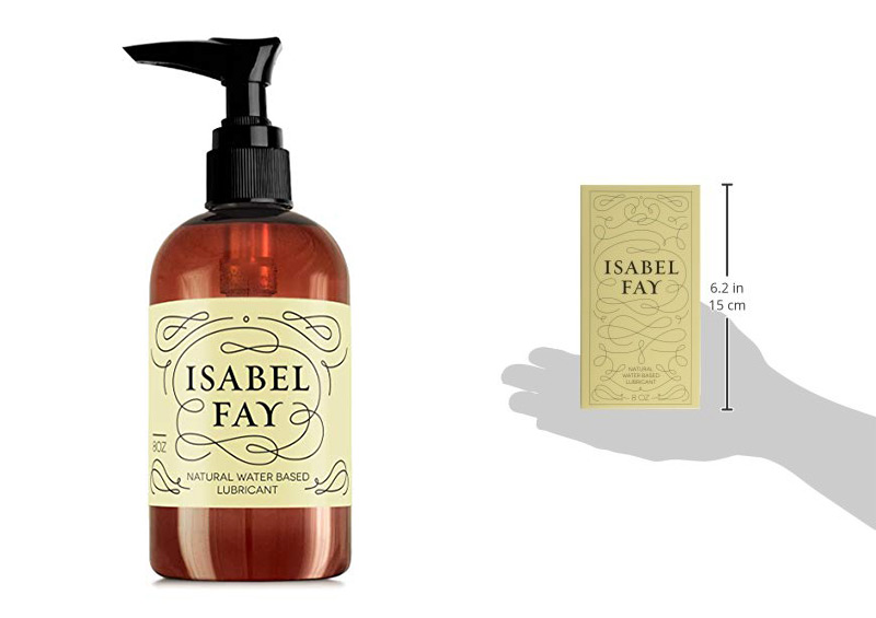 Isabel Fay Personal Lubricant for Sensitive Skin