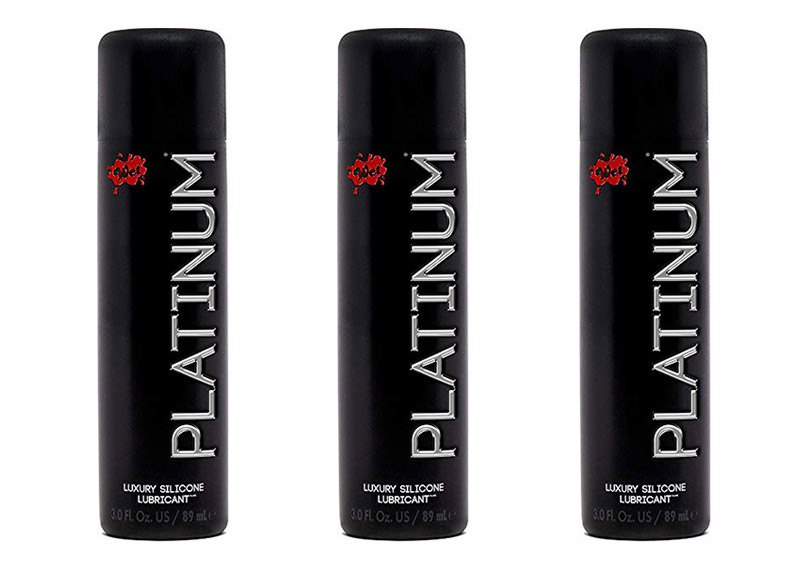Platinum Luxury Silicone-Based Lubricant by Wet